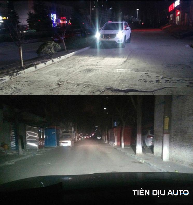 thử đèn led ô tô
