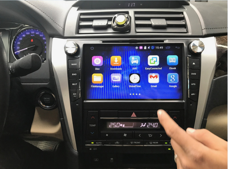 DVD Android cho camry