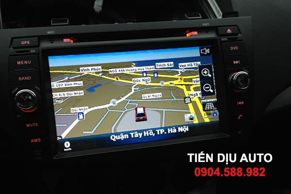 Đầu DVD ô tô Mazda 3 có GPS dẫn chỉ đường