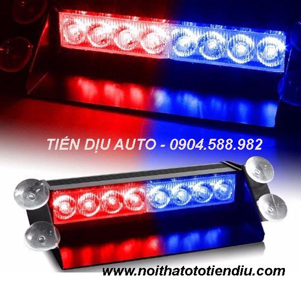 đèn led nháy cảnh sát xanh đỏ