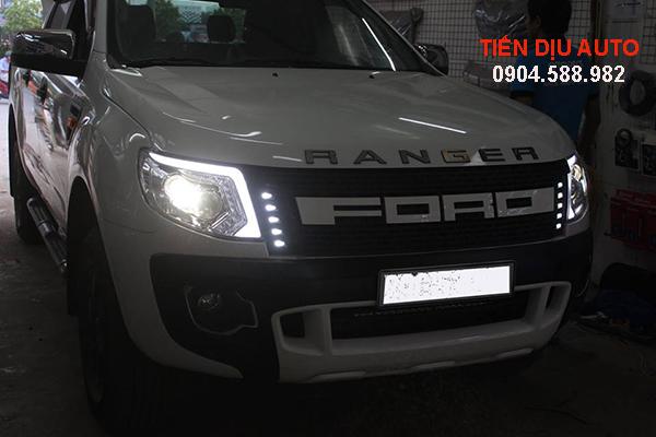 Độ đèn ô tô Ford Ranger