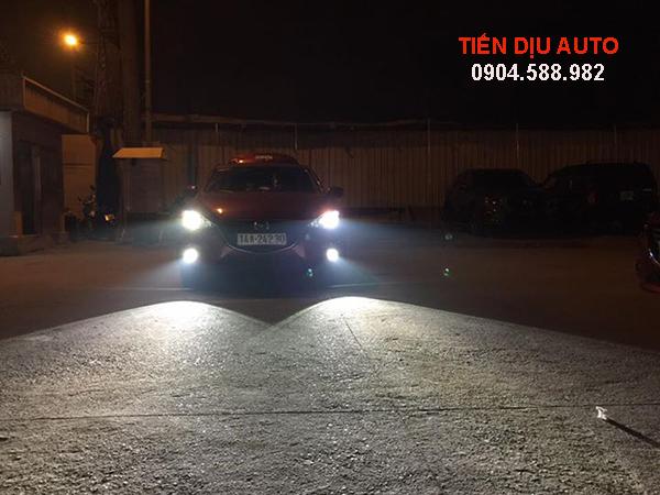 Độ đèn gầm ô tô