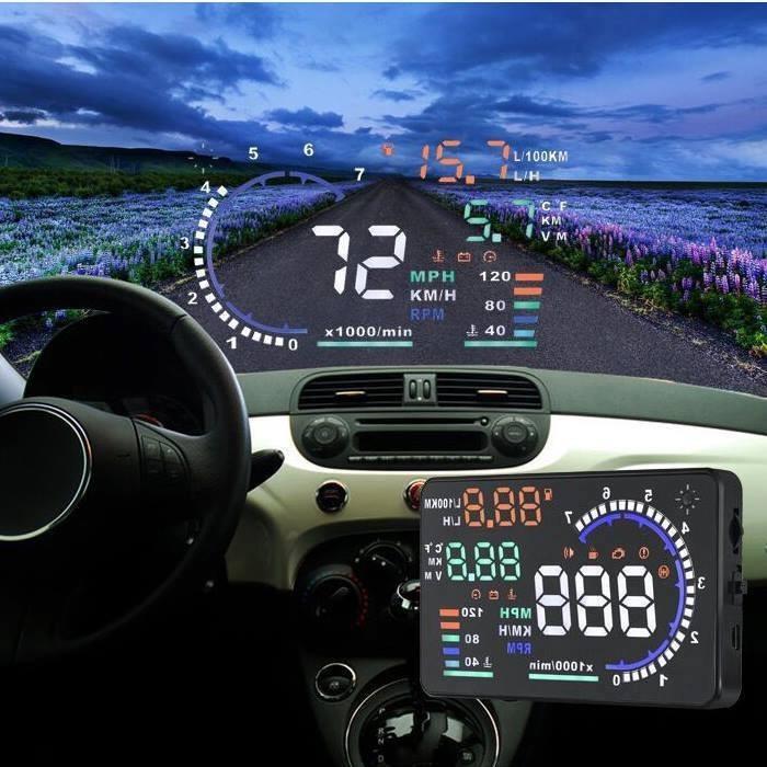 thiết bị hiển thị tốc độ trên kính lái HUD