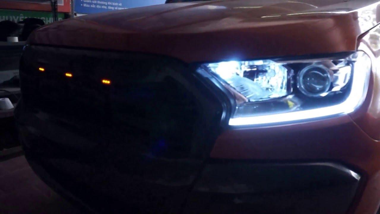 độ đèn oto ford ranger