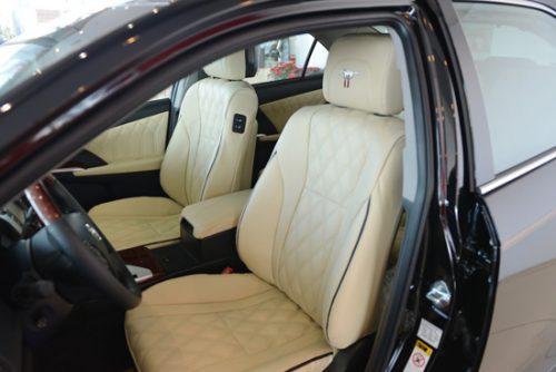 Bọc ghế da xe hơi Toyota Hiace