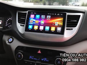 hình ảnh màn hình android xe Tucson