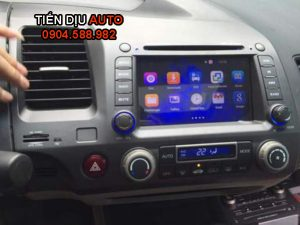dau dvd android honda civic