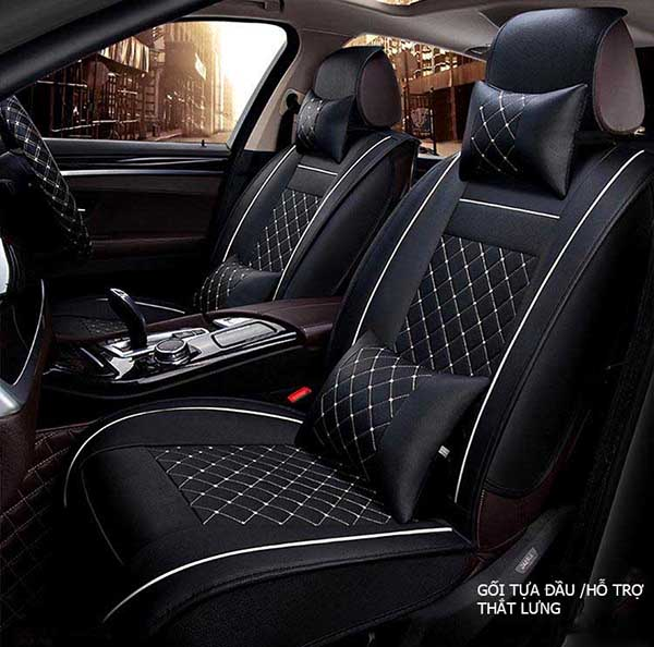 lót ghế ô tô da cao cấp