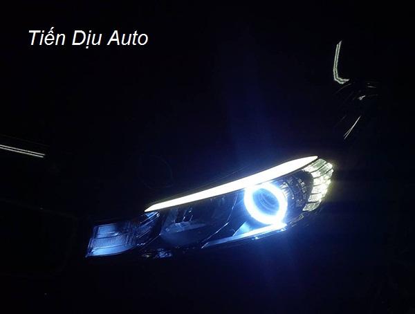 Độ đèn bi Xenon tăng sáng vượt trội cho Kia Morning