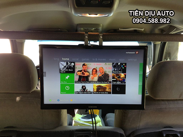 màn hình ốp trần android ô tô