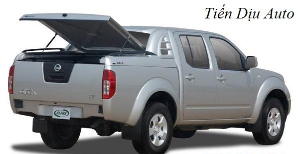 Nắp thùng giúp bảo vệ hàng hóa và tài sản trên xe