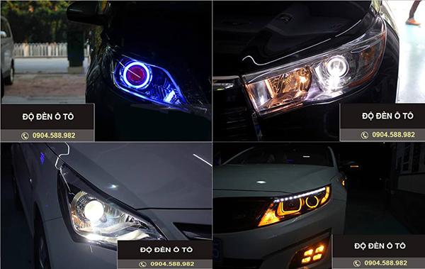 chuyên độ đèn ô tô