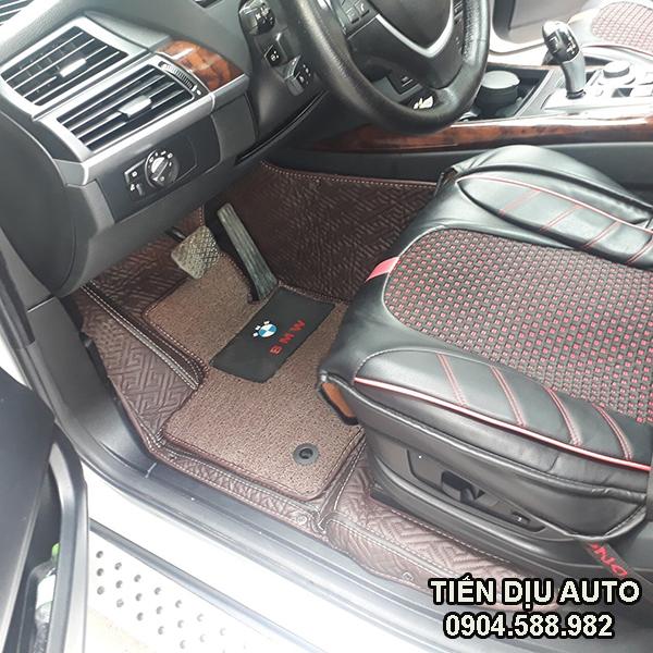 Bọc sàn da ô tô cao cấp 6D