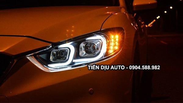 độ bi xenon cho Mazda 6