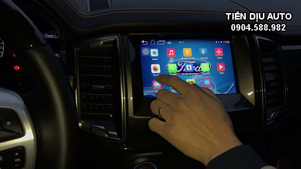 đầu dvd android Ford Ranger