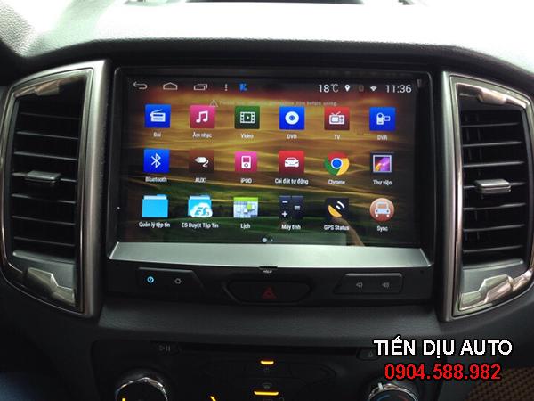 màn hình dvd cho xe ford ranger