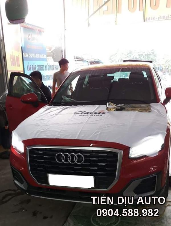 Dán phim cách nhiệt xe Audi