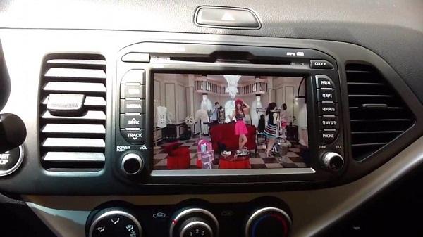 đầu màn hình dvd android xe kia morning