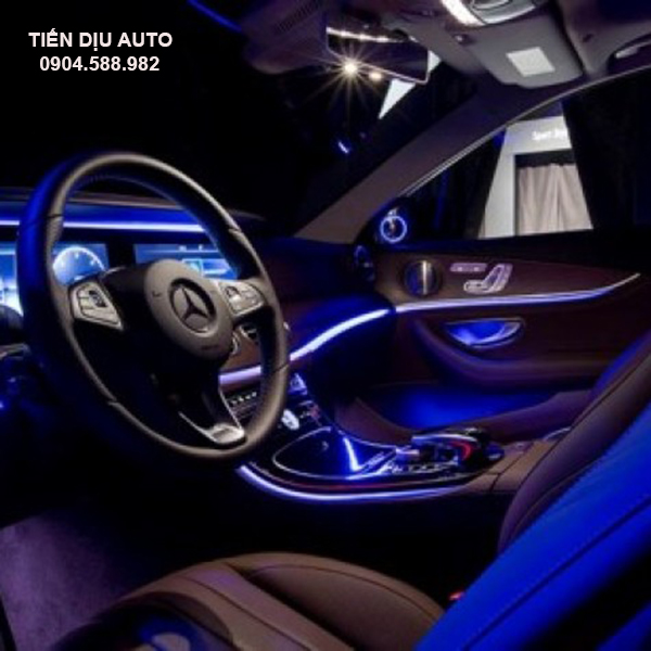 đèn led viền nội thất ô tô