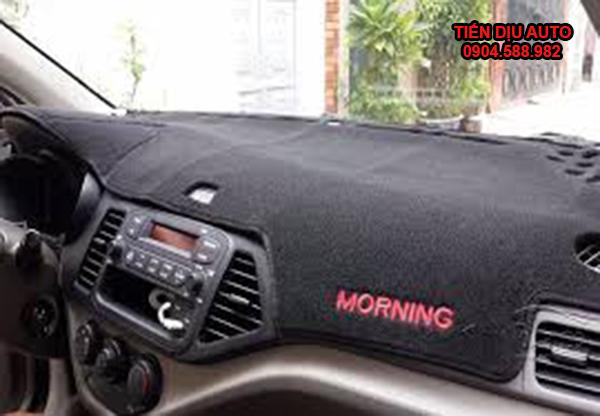 thảm chống nắng taplo xe kia morning