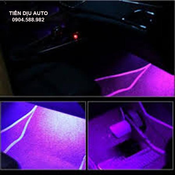 đèn led gầm ô tô nháy theo nhạc