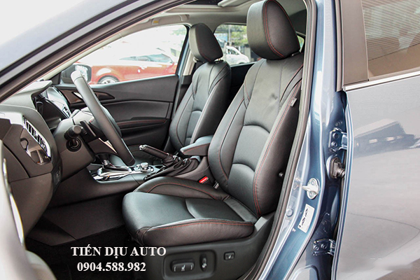 độ thay thế ghế chỉnh điện cho xe mazda 3