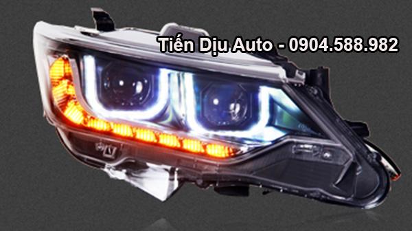 độ đèn xe camry