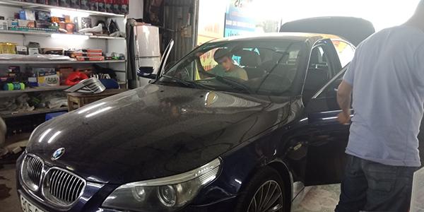 dán phim cách nhiệt cho xe BMW tại Hà Nội