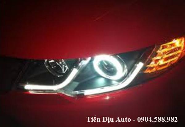 Độ đèn pha nguyên bộ cho xe Kia Forte