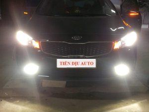 độ đèn cho xe Kia Forte