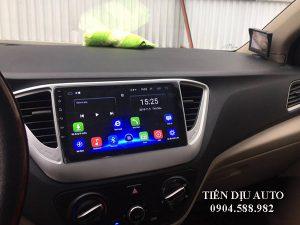 màn hình android cắm sim 4G Huyndai Accent