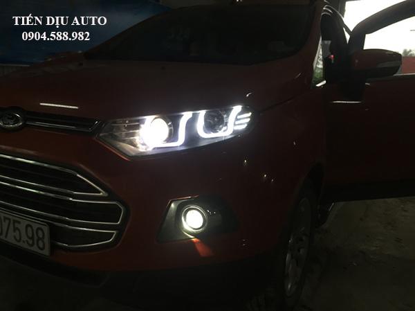 Độ bi xenon gầm cho xe Ford Ecosport