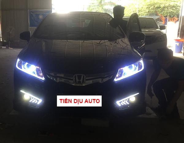 Độ đèn xe Honda City