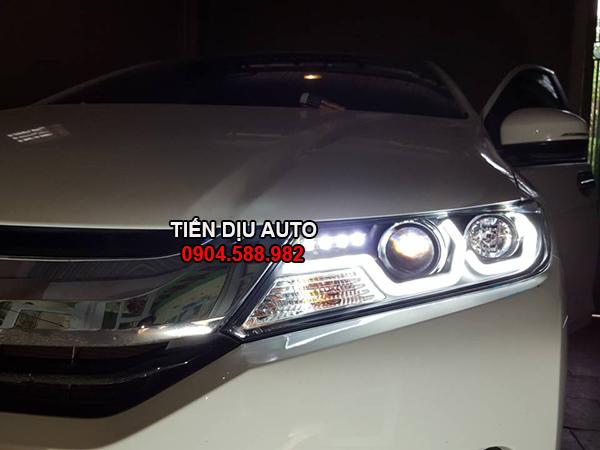 Độ đèn pha nguyên bộ Honda City
