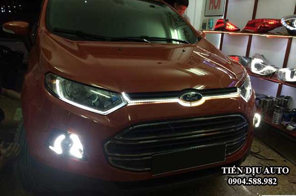 Độ đèn gầm led daylight xe Ford Ecosport