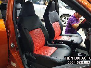Bọc ghế da xe Toyota Wigo