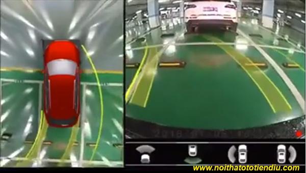 camera 360 độ ô tô sony