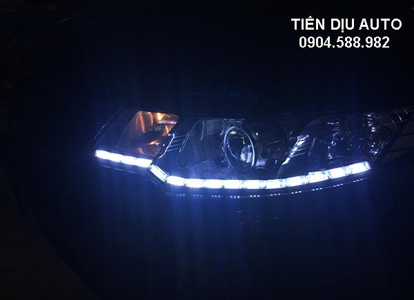 Độ đèn led cho xe Kia Cerato