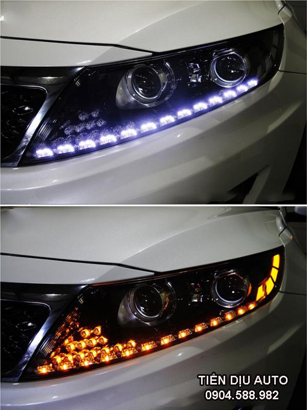Độ đèn led cho xe Ford Everest