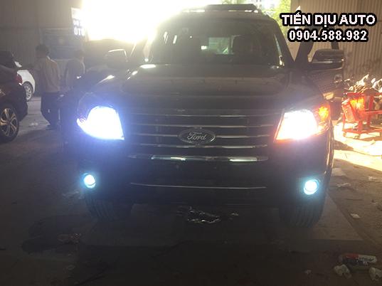 độ đèn cho xe Ford Everest