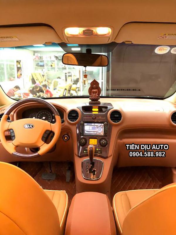 Đổi màu nội thất xe Kia Caren