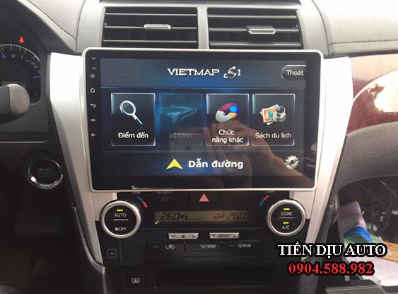 đầu màn hình dvd ô tô Android xe Camry