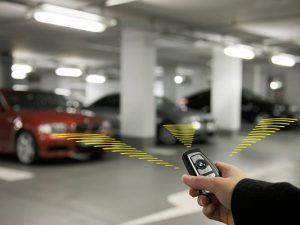 chìa khóa thông minh ứng dụng tìm xe