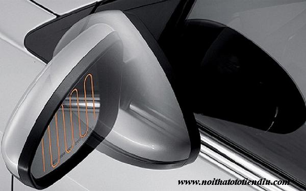 độ gập gương điện xe wigo