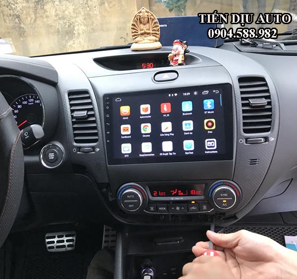 Màn hình DVD Android xe Kia Cerato