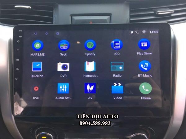 Màn hình DVD Android xe nissan navara