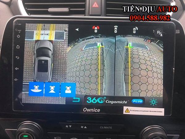 căn chỉnh camera gương camera 360 độ ô tô