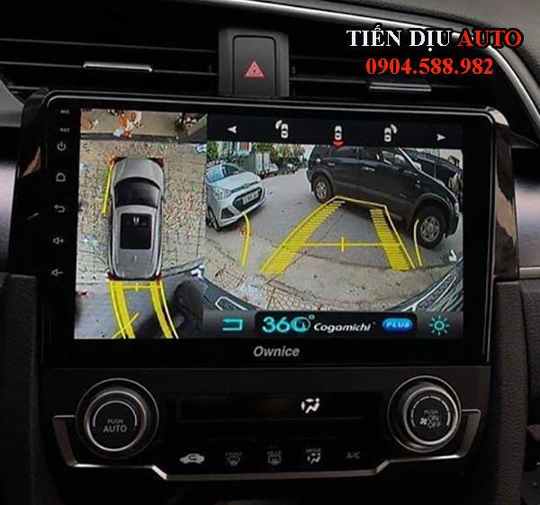 Camera 360 độ ô tô 3D cogamichi