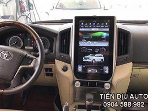 màn hình dvd android tesla xe land cruiser