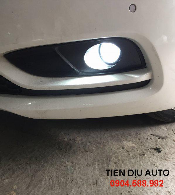 Độ đèn gầm xe Vios